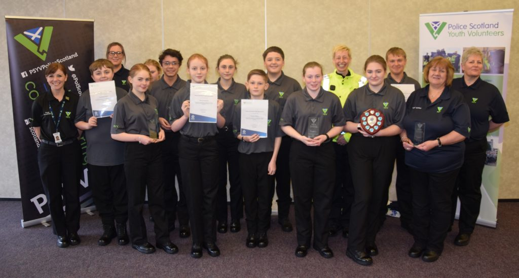 Newest police youth volunteer recruits pass out