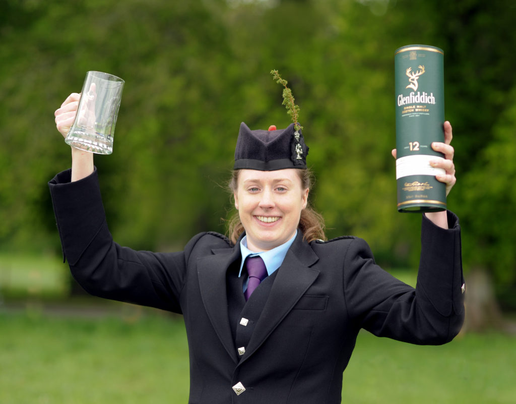 Former Kintyre piper is Atholl Gathering champion