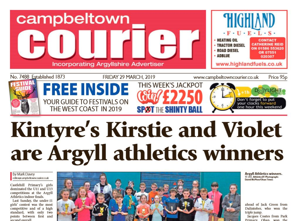 Campbeltown Courier PDF Archive 2019