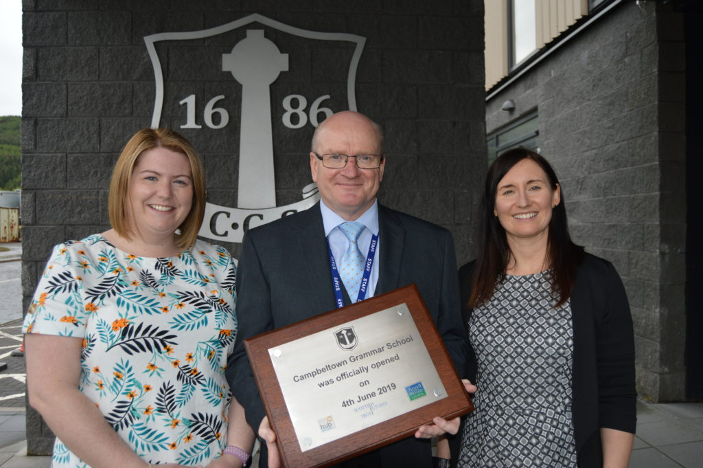 The latest grammar school is now officially open