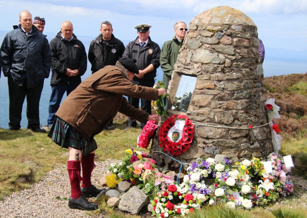 Chinook crash victim's daughter's heartfelt 'thank you' to Kintyre