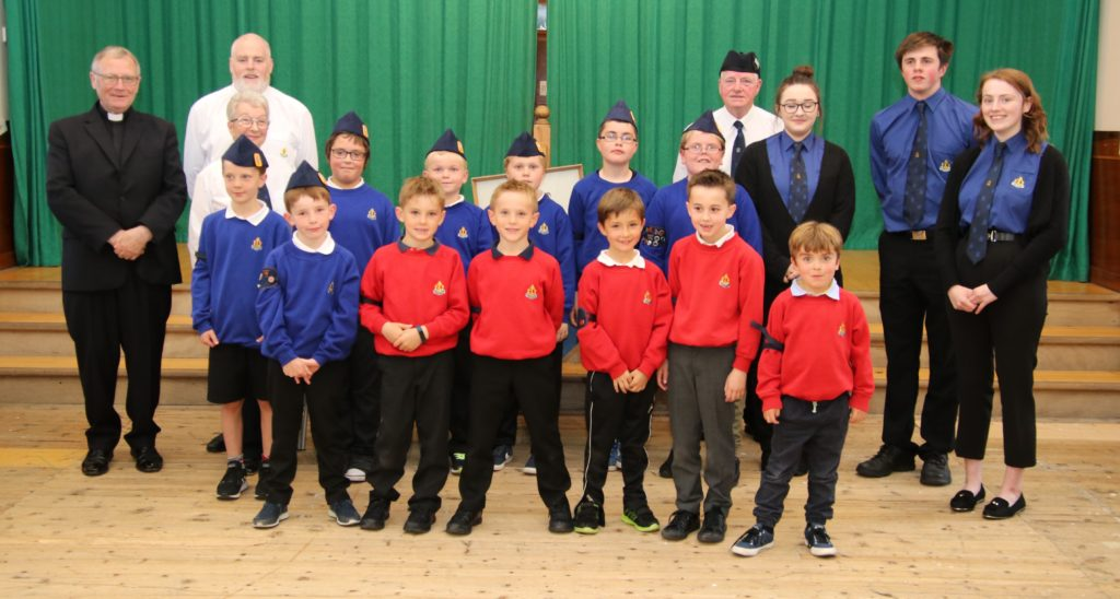 Seventh annual Boys' Brigade display