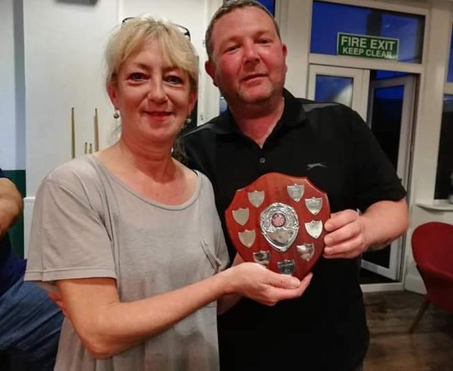 Darts winners donate prizes