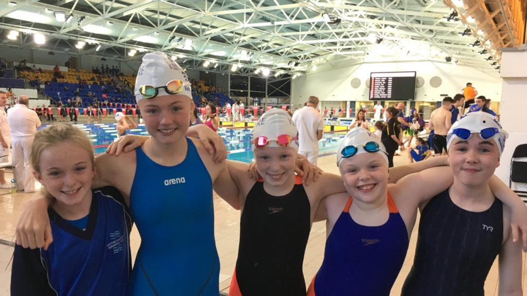 Personal bests for Kintyre swimmers at Tollcross