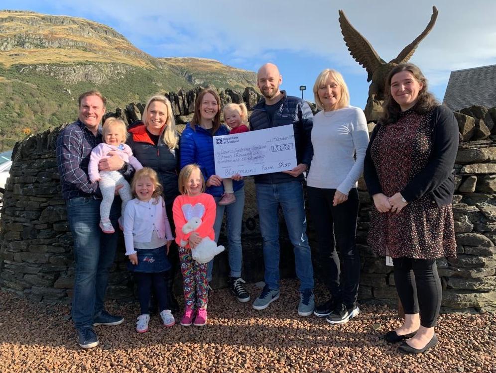 Springbank and Machrihanish help Grace's pals raise cash