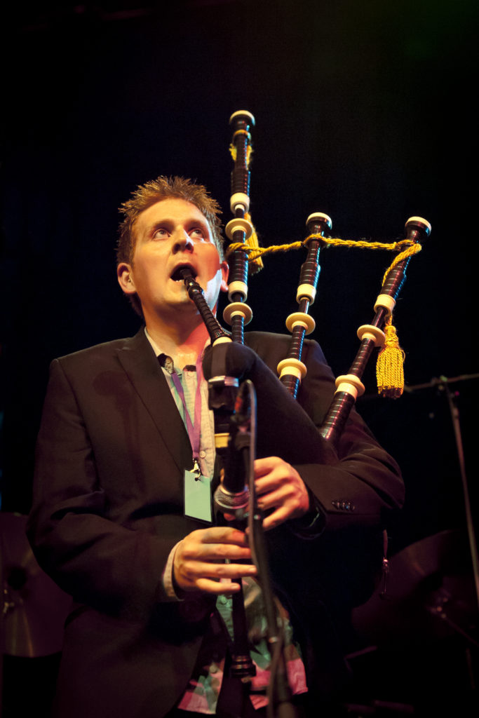 Carradale piper up for prestigious trad music award