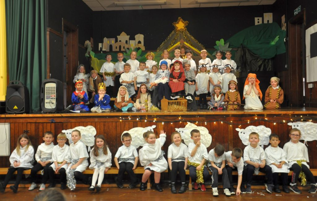Castlehill put on its own version of the traditional nativity.