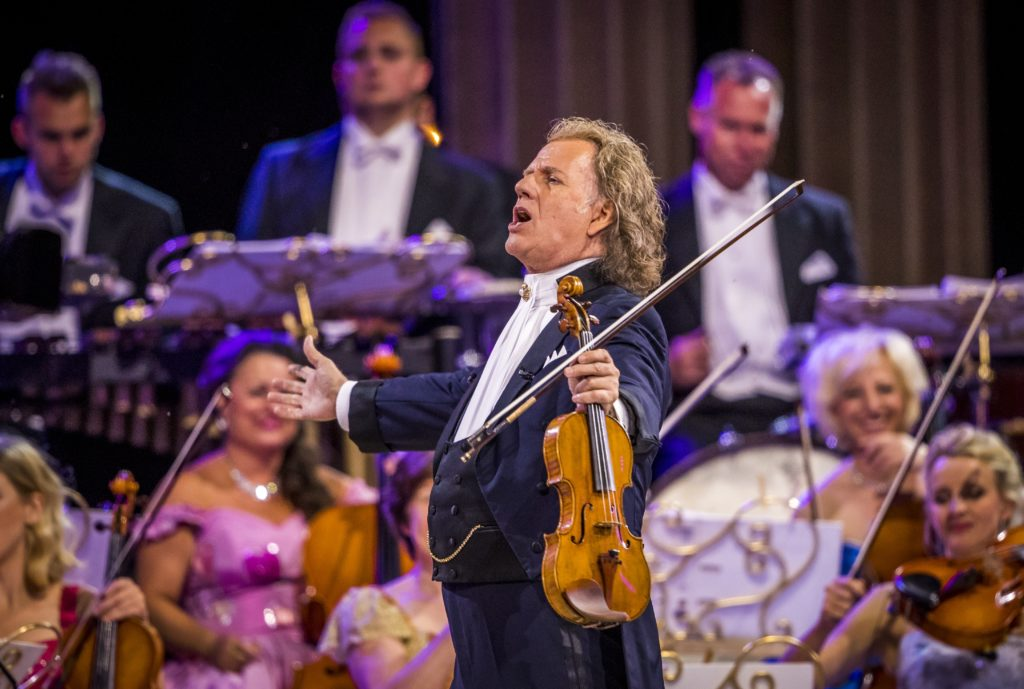 Celebrate André Rieu's 70th at cinema