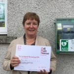 Rhoda Grant MSP is campaigning for defibrillators in all schools.