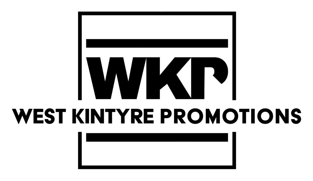 The West Kintyre Promotions logo.