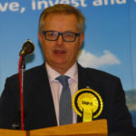 Brendan O'Hara MP re-elected as Member of Parliament for Argyll and Bute. NO_general_election_12_dec_19_kmg08.jpg Photograph by Kevin McGlynn.