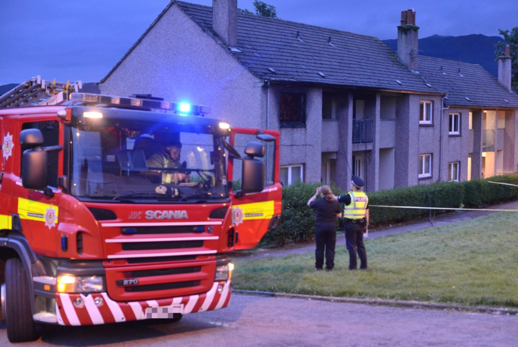 Man wilfully set fire to Campbeltown flat