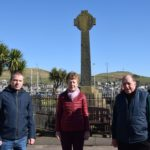 From left: James Lafferty, Catherine Dobbie and Alan Baker, convenor of Campbeltown Community Council.