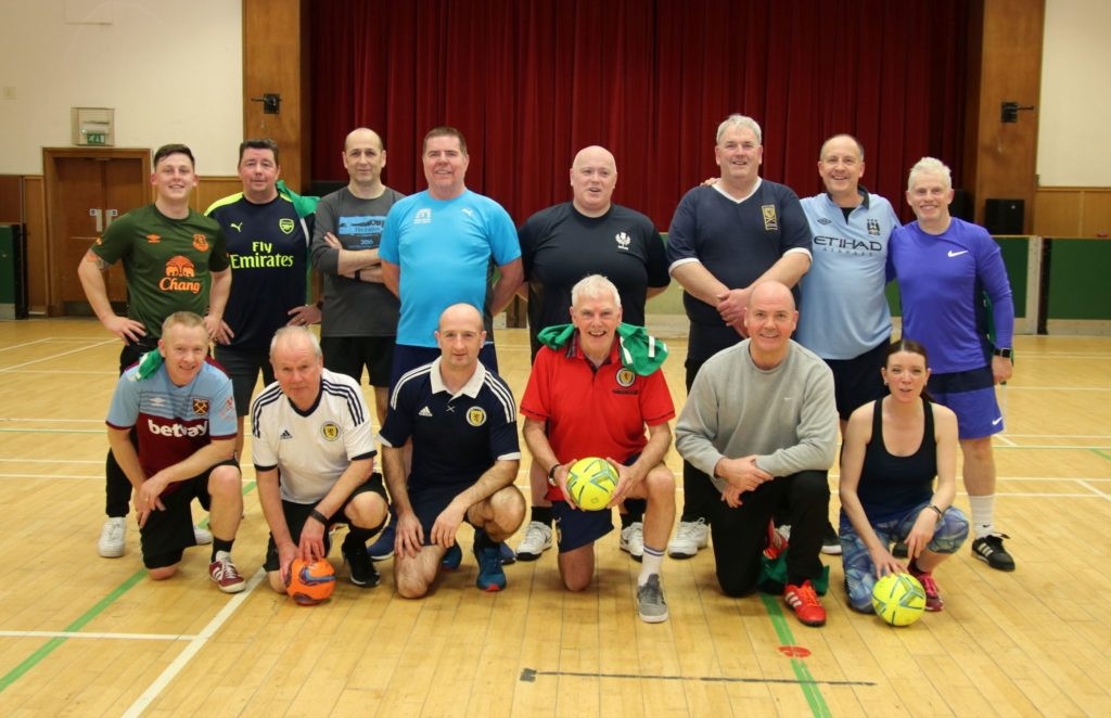 Walking football kicks off in Campbeltown