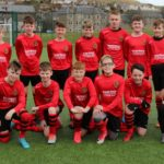 The Pupils U13s side which played against Haldane United.