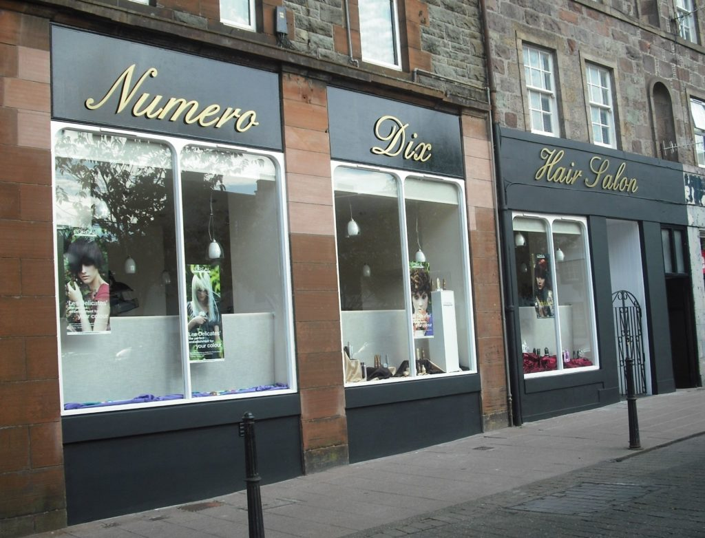 Numero Dix Hair Salon.