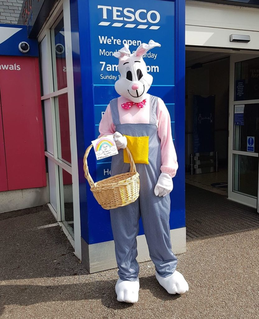 Easter treats from one hero to others