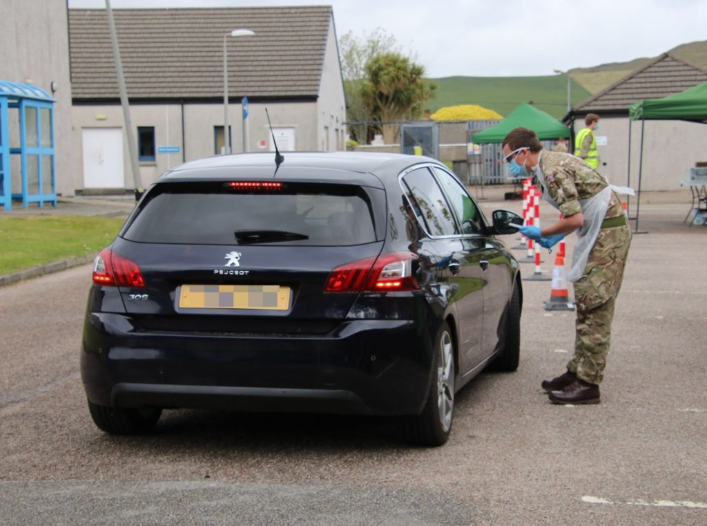 Army testing unit comes to town