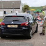 Soldiers from the 2nd Battalion The Royal Regiment of Scotland carried out testing at Campbeltown Hospital.