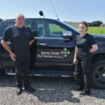 Donald Kelly and his daughter Jennifer of Kintyre Vermin Pest Control.