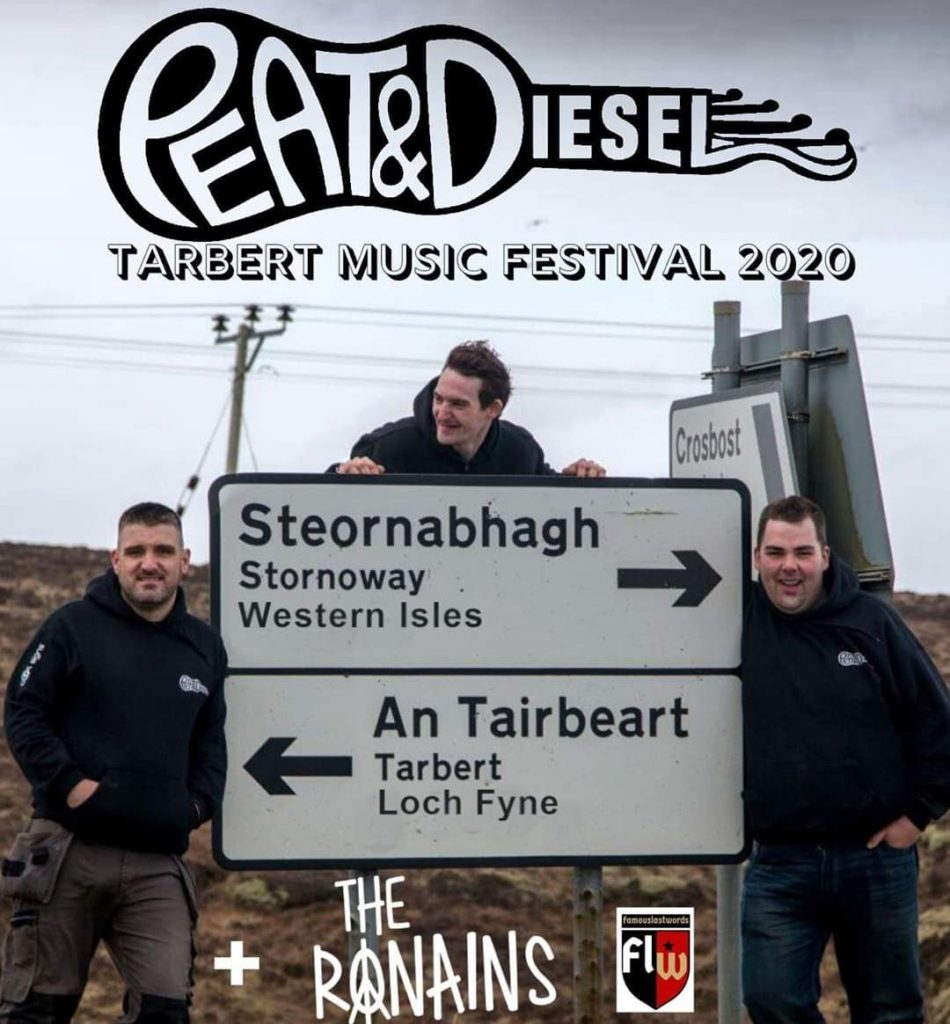 New date for Peat and Diesel's Tarbert gig