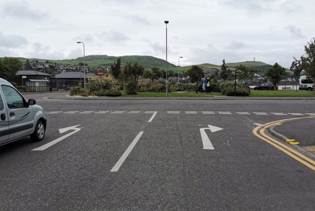 Town centre prepared for one-way system