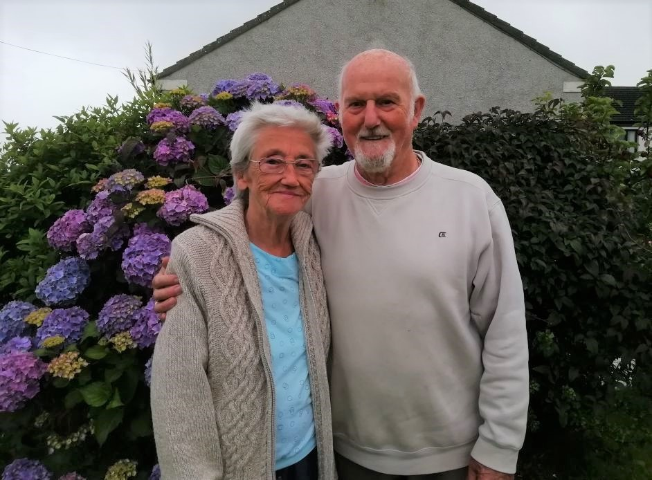 May and Tommy Wilson have celebrated their 60th wedding anniversary.