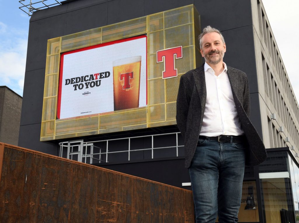 Kenny Gray, managing director at Tennent's.