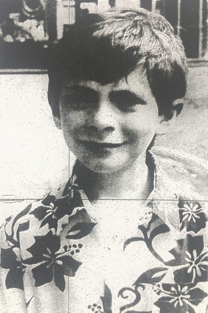 Ten years ago: Elliott Fisher, picked to play the part of a child prisoner at Inveraray Jail.