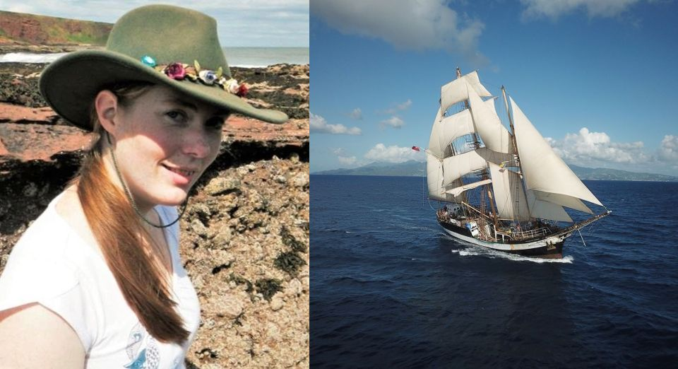 Kerry MacKay is setting sail on the tall ship Pelican of London in August.