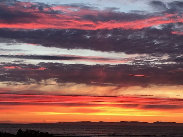 This week's photograph, sent in by Patricia Stevenson, shows a sunset over the golf course and beach at Machrihanish, taken at 10.35pm on a June evening.