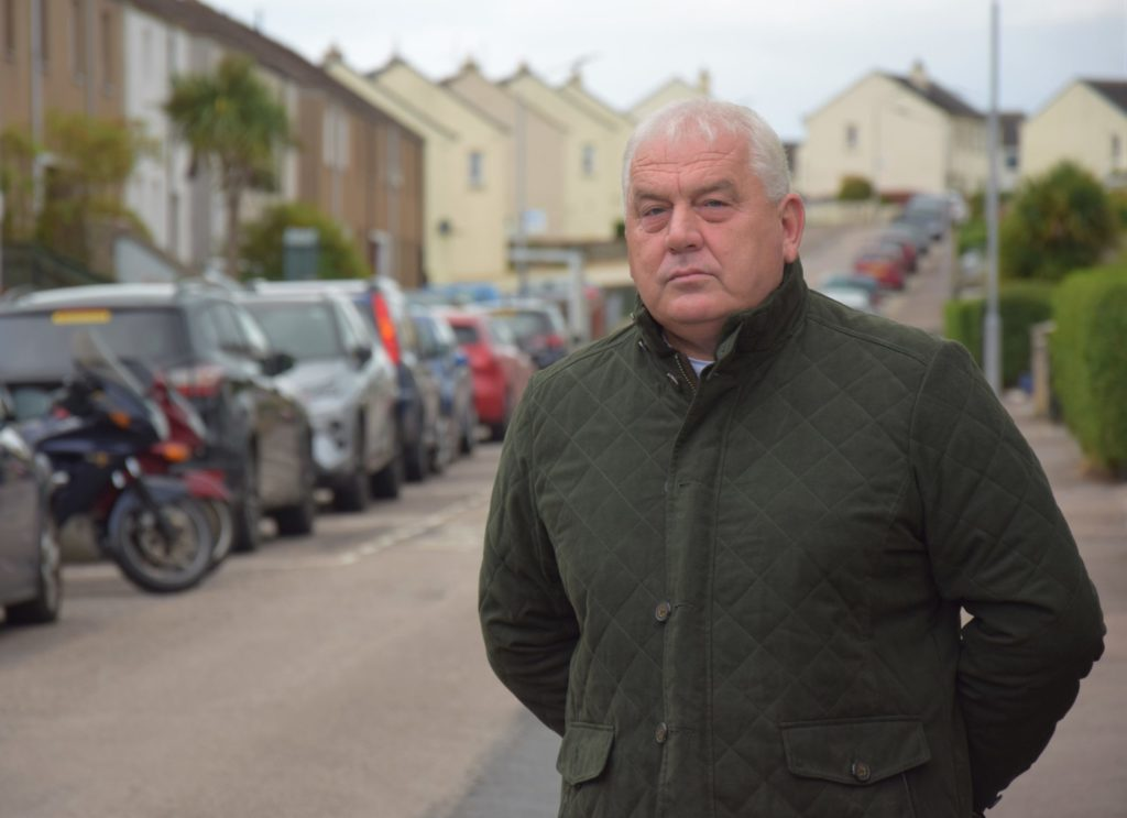 Councillor's plan to improve road safety in residential streets