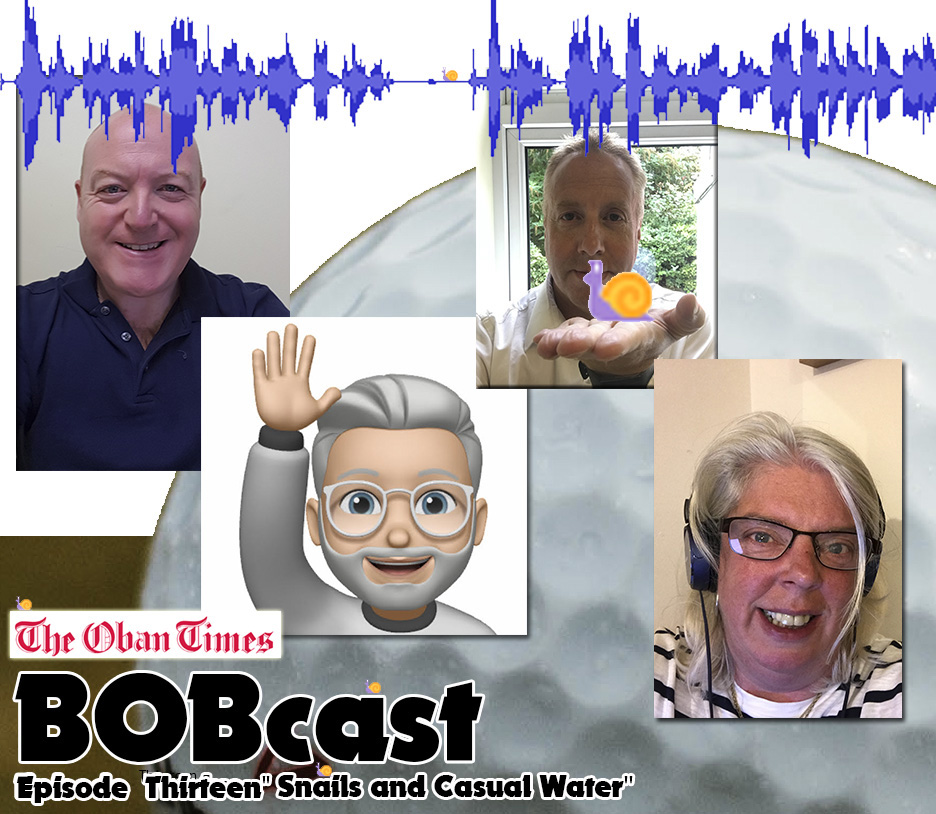 """BOBcast Podcast Episode 13 """"Snails and Casual Water"""""""