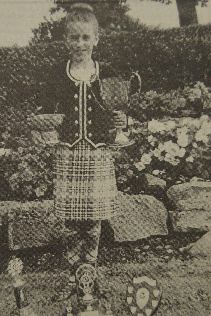 In 1995: Vikki Carmichael.