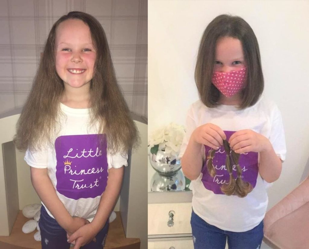 Mia is a Little Princess Trust hair hero