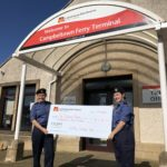 Campbeltown Sea Cadets was awarded £2,000 in the first round of CalMac's Community Fund.