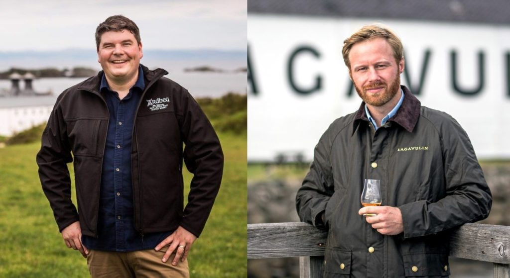 New managers at two Islay distilleries