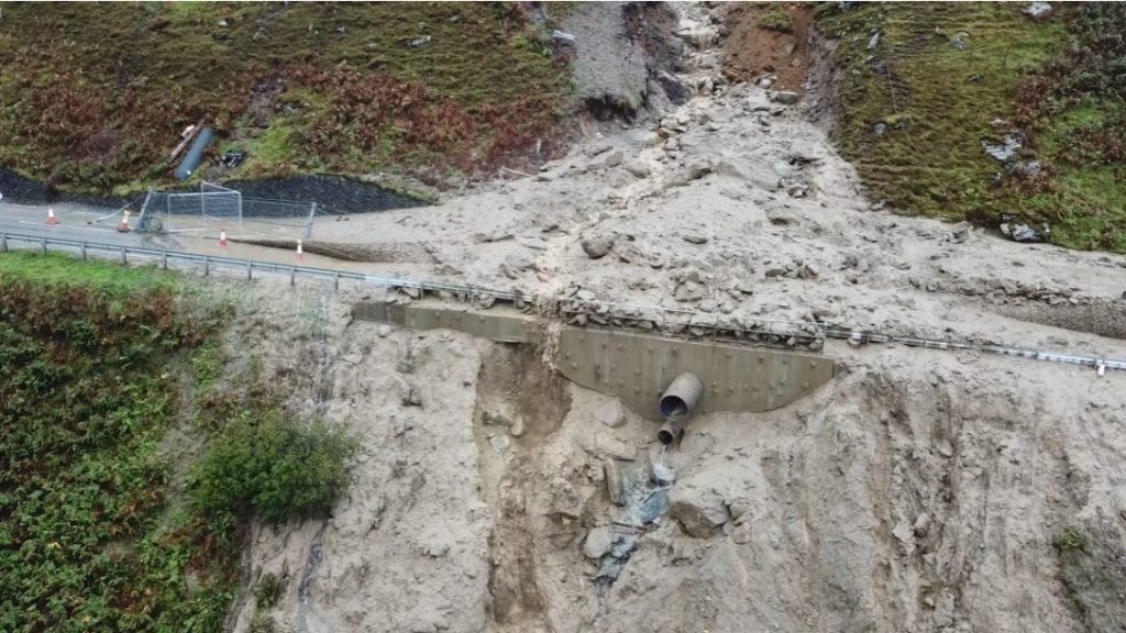 Calls for urgency after another landslide at Rest and Be Thankful