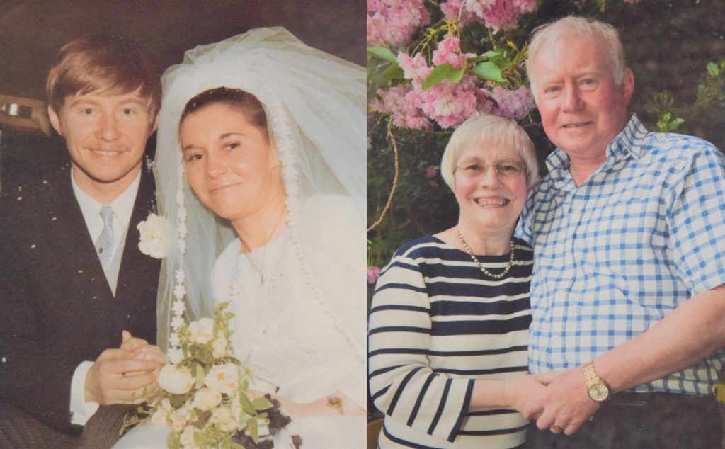 Calum and Margaret Morrison, who married in 1970, are celebrating their golden wedding anniversary.