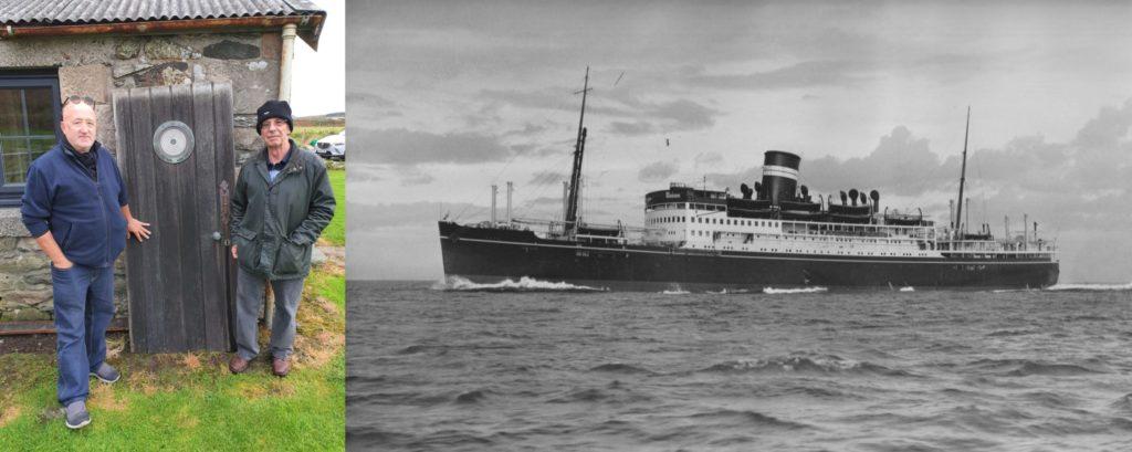 Lost sailor's nephews mark 80 years since SS Aska sinking