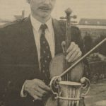 In 1995: Maurice Duncan at the Royal National Mòd; he was featured as a schoolboy, winning at the Mòd in 1970 in last week's edition.