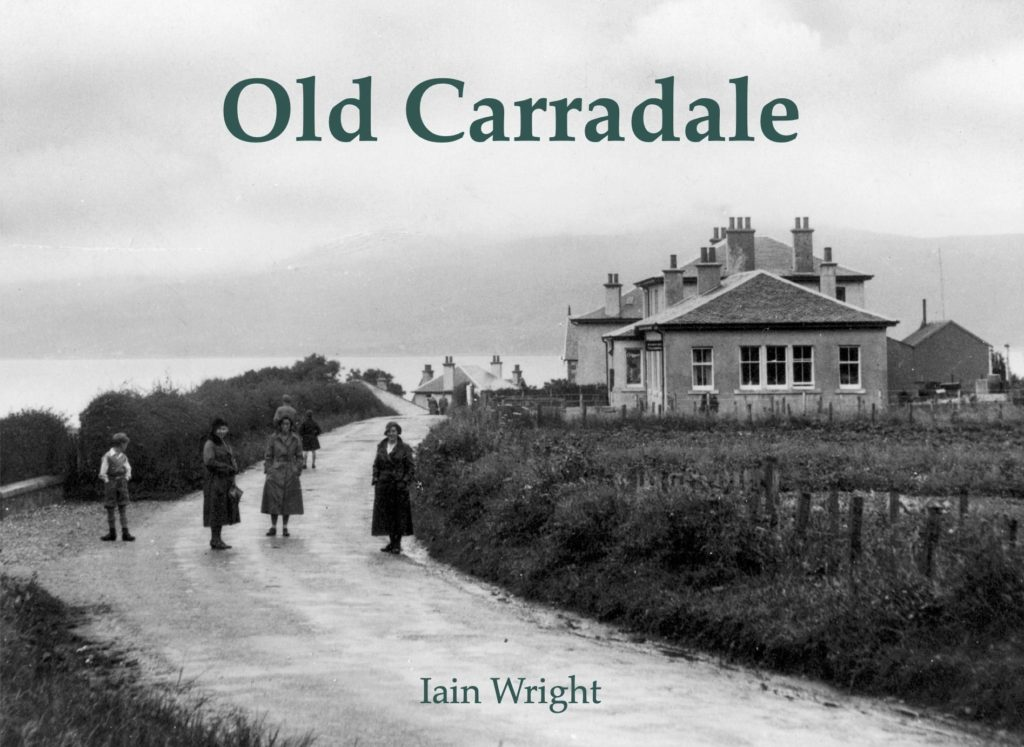 Photo book takes a look at Old Carradale
