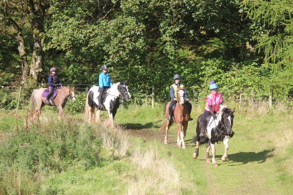 Sun shines for Argyll South's second rainbow ride