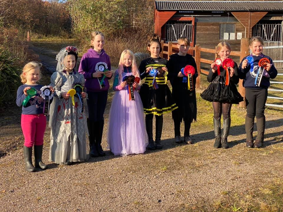 Galloping ghosts and ghouls at Pony Club