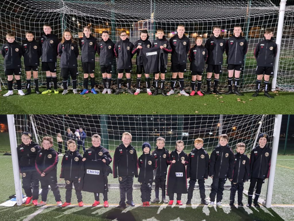 Companies kit out young Pupils teams for winter