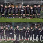 CDJFA's under-14 age group, top, has been sponsored by Glenturas Construction Ltd, while members of the 2011 age group, bottom, have been kitted out thanks to the company Kirby.
