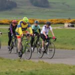 Kintyre Wheelers Cycling Club, which was re-established in 2017, hosts informal training rides and club events like the 2019 End of the World cycling race, seen here.