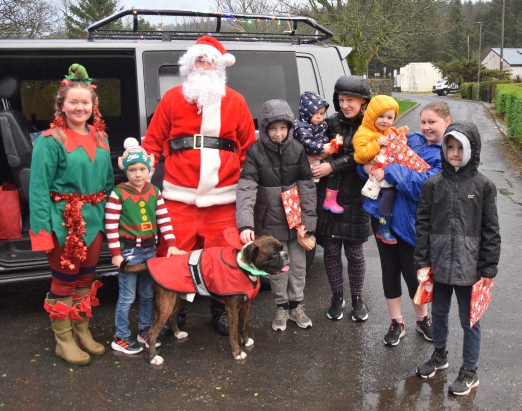 Santa brings Christmas cheer to Tayinloan
