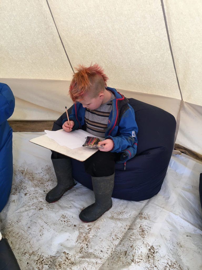 Rhunahaorine pupils embrace the great outdoors