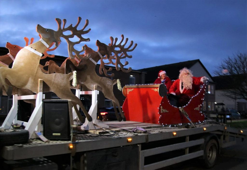 Santa Claus comes to Campbeltown